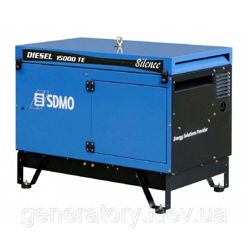 Генератор SDMO Diesel 15000 TE Silence