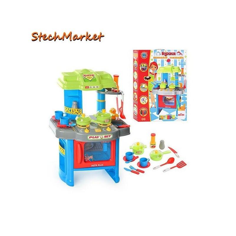 Детская Кухня c музыкальными и световыми эффектами 008-26A
