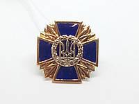 Золотой значок Трезубец. Артикул 160046, фото 1