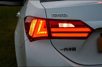 Диодные фонари LED оптика Toyota Corolla E170 (12-16) стиль 1