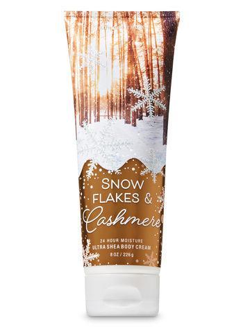 Крем для тела Bath&Body Works Snowflakes & Cashmere