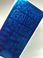 Пластина для стемпинга металл, YICAI-09