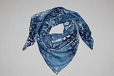 Женский шерстяной платок Зимние узоры