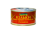 ТМ Пролив Килька балт. в т/с 5/240 г ключ 48 шт/уп