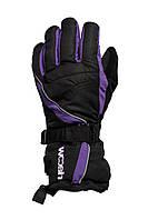 Перчатки Woosh Thinsulate 3M Violet-black черные M