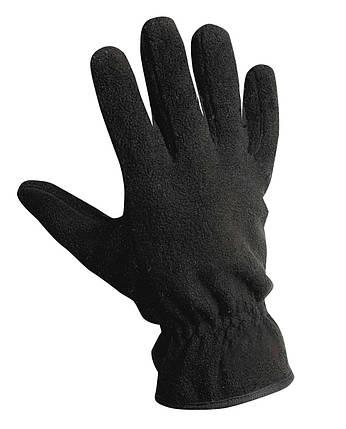 Перчатки флисовые Červa утепленные ЗМ Thinsulate MYNAH манжета черные, фото 2