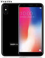 """Doogee X55 5,5"""" 18:9 HD MT6580 4 ядра 1GB RAM 16GB ROM 8,0 МP Android 7,0 2800 мАч отпечаток пальца, фото 1"""