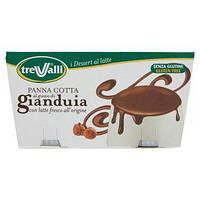 Панна – котта шоколад с тертым лесным орехом