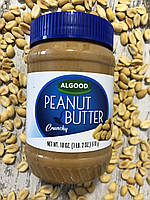 Полезная арахисовая паста с кусочками орешков  ALLGOOD, 510грамм, фото 1