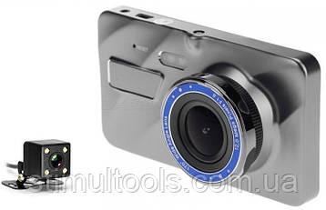 Відеореєстратор A 10, 2 камери, FULL HD