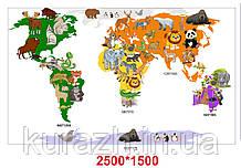 Набір стендів «Карта світу»