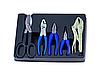 Набор инструментов 5 ед. в ложементе (пассатижи, пинцы, ножницы) King Tony 9-90205GN