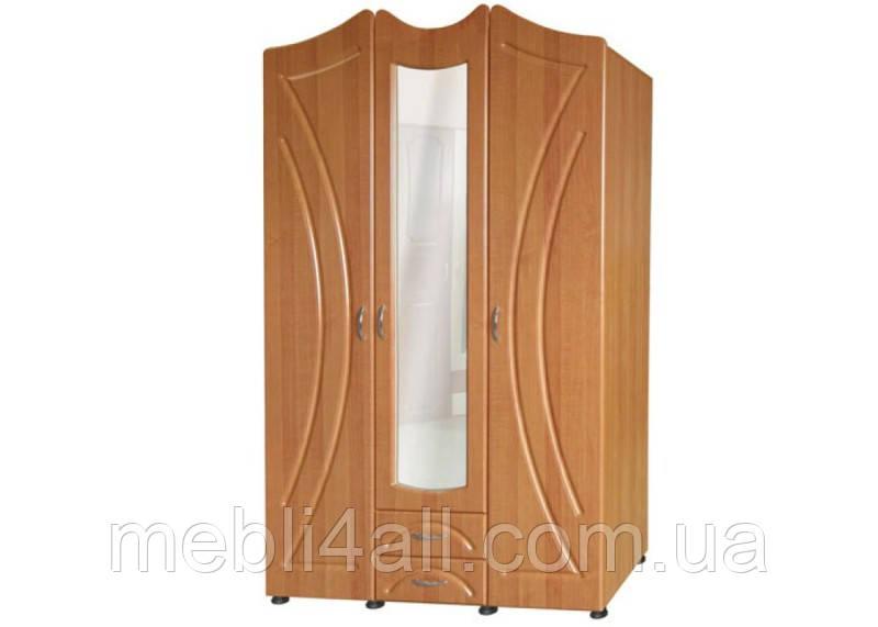 Шкаф 3-дверный Гера