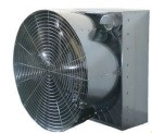 Вентилятор тунельний ES-140 з разтрубом та жалюзі  46,600m3/hour; 0Pa; 58dB