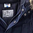 Зимняя куртка с капюшоном для мальчика Topolino Германия Размер 128, фото 4