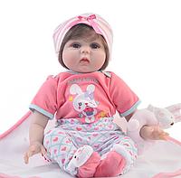 Лялька реборн в костюмі з зайчиком ( 98 ), фото 1