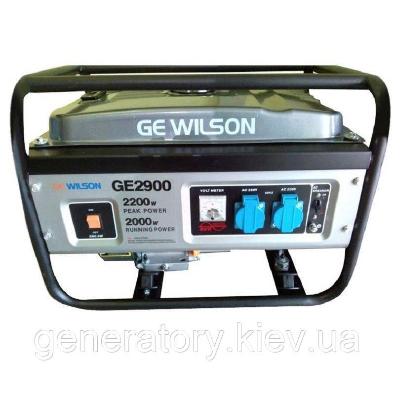 Генератор GEWILSON GE2900