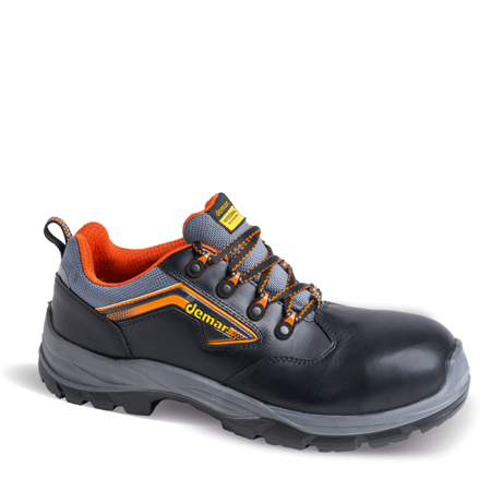 Рабочая обувь SOLO S3 SRC черного цвета. DEMAR (ПОЛЬША)