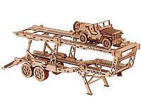 Конструктор  деревянный Прицеп автовоз . Wood trick пазл. 100% ГАРАНТИЯ КАЧЕСТВА!!!, фото 1