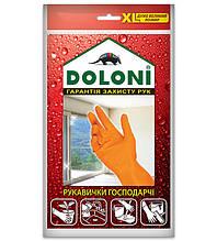 Перчатки DOLONI №4563 хозяйственные латексные (XL)