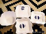 Сервиз столовый с салатником 19 предметов Authentic White Luminarc E6197, фото 4