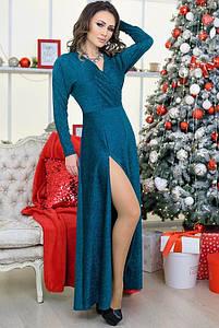 Вечірнє плаття з люрексом Валері 48-60рр