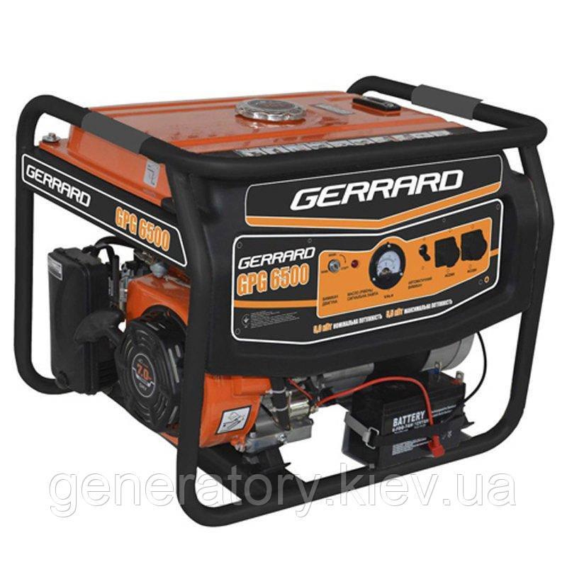 Генератор GERRARD GPG6500
