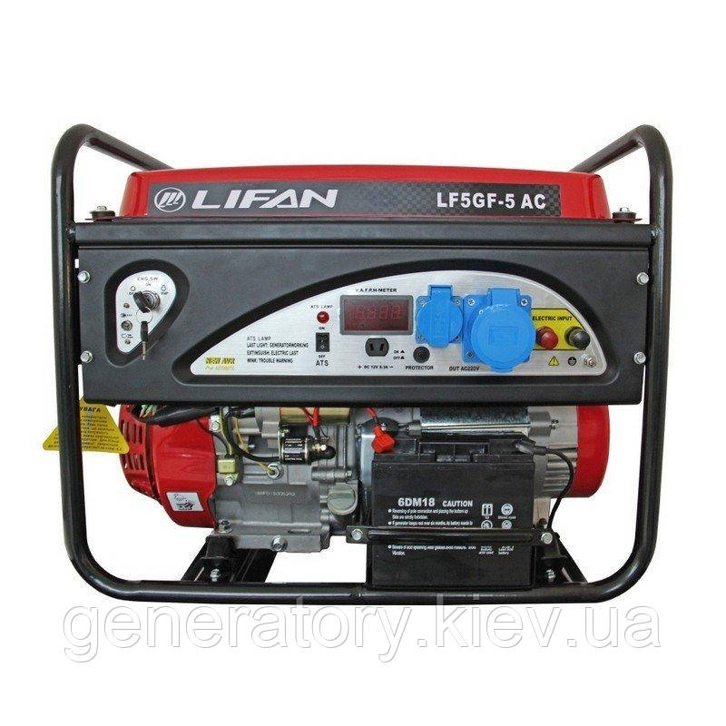 Генератор Lifan LF5GF-5.0 AUTO CONTROL