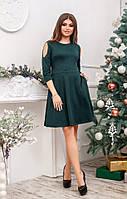 Платье с открытыми плечами в расцветках 26285, фото 1