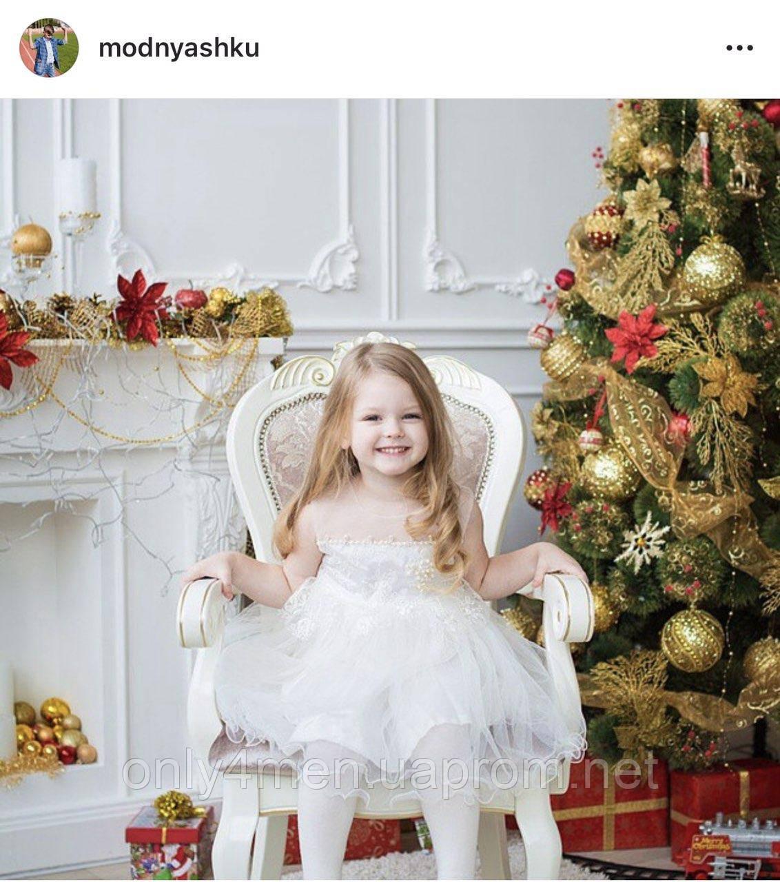 Красивое платье для девочек 2-5 лет