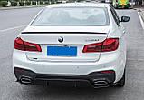 Спойлер BMW G30 M Perfomance карбон, фото 3