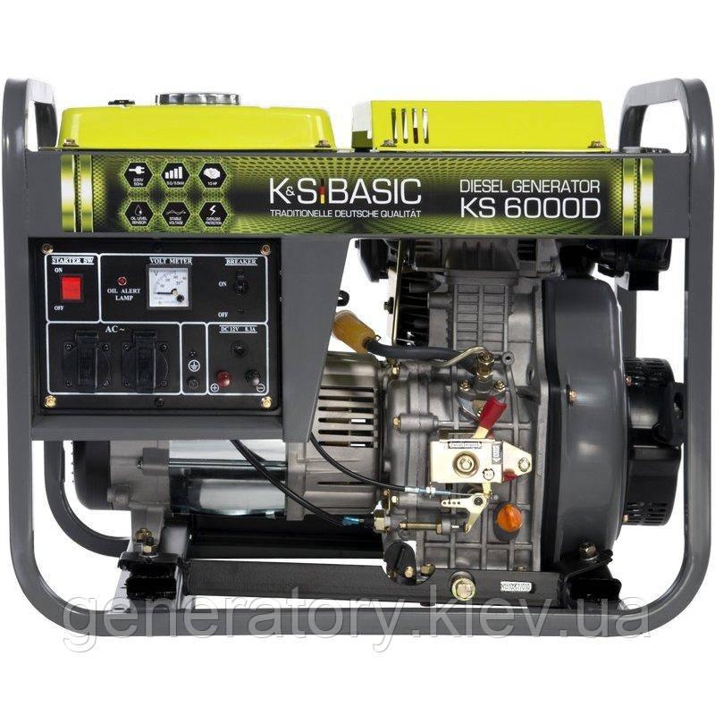 Генератор Konner&Sohnen BASIC KS 6000D