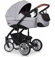 Детская коляска универсальная 2 в 1 Euro-Cart Delta grey fox (Евро-Карт Дельта, Польша)