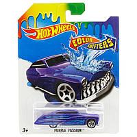 Машинка Меняющая цвет Purple Passion Hot Wheels, фото 1
