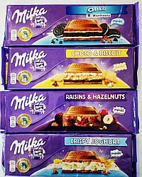 """Большая шоколадка """"Милка"""" с любым вкусом"""