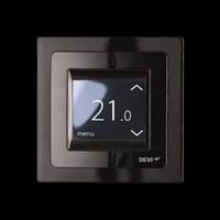 Терморегулятор электронный Devireg Touch Black (140F1069)