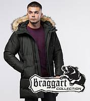 Braggart Youth | Зимняя куртка 25150 темно-зеленая, фото 1
