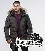Braggart Youth   Куртка зимняя 25050 кофе, фото 1