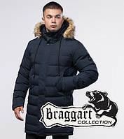 Braggart Youth | Зимняя куртка 25050 синяя, фото 1