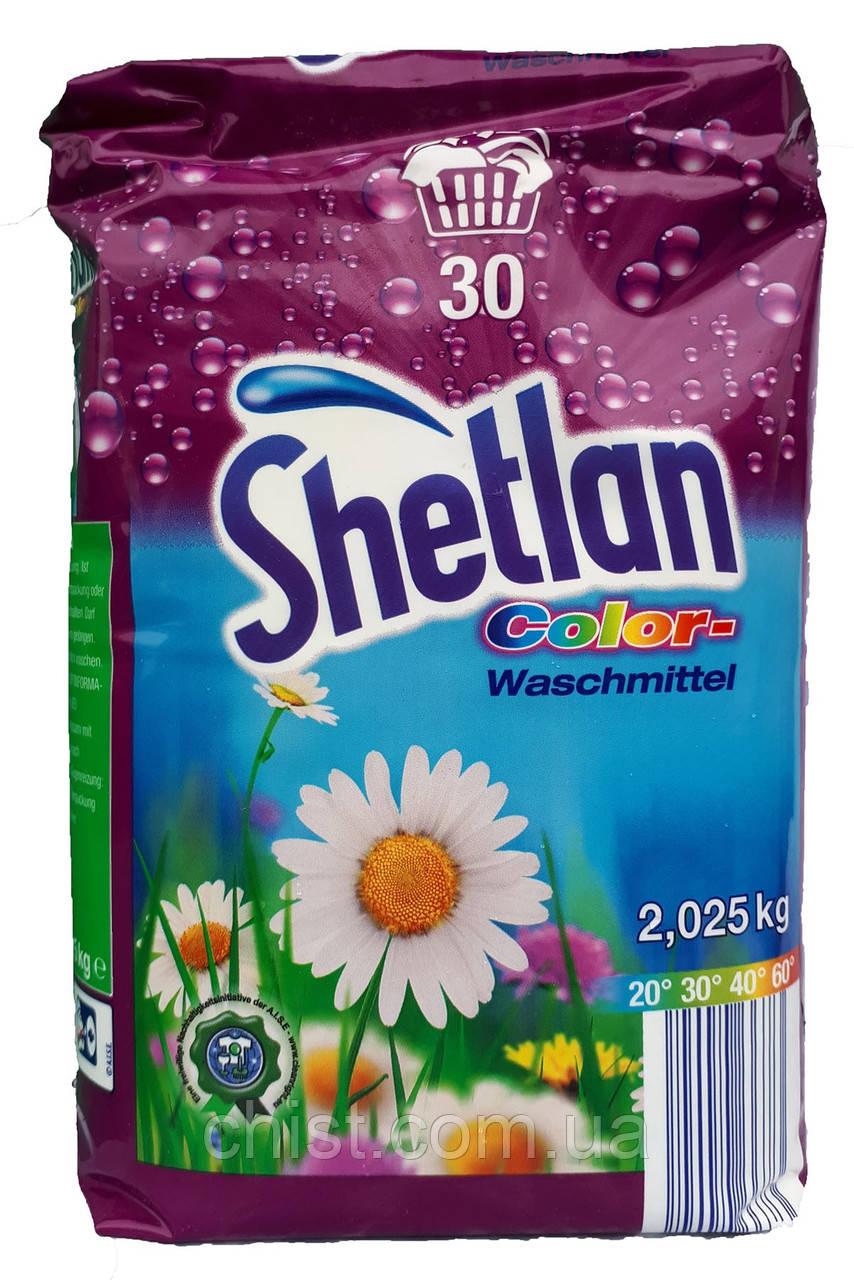 Shetlan порошок для стирки (2.025 кг-30 ст) универсальный