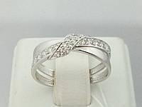 Серебряное кольцо с фианитами. Артикул 13807-Р 17,5, фото 1