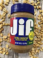 Арахисовая паста JIF с большим количеством кусочков орешков, 454грамма, фото 1