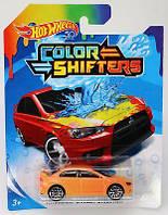 Машинка Меняющая цвет Mitsubishi Lancer Evolution Hot Wheels BHR15