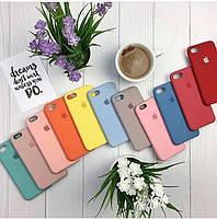 Чехол Apple Silicone Case 100% Original iPhone 5/5s 6/6s/6+ 7/7+ 8/8+ X/Xs Xr  Maxs