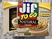 Арахисовая паста JIF TO GO Кремовая в мини-упаковках, фото 1