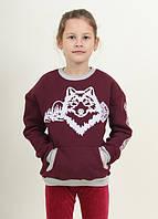 Теплі зимові свитшоты з Новорічної колекції для дівчаток і хлопчиків