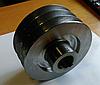 Шкив трехручейный (наружный диаметр 150 мм, внутренний 30 мм, тип В)