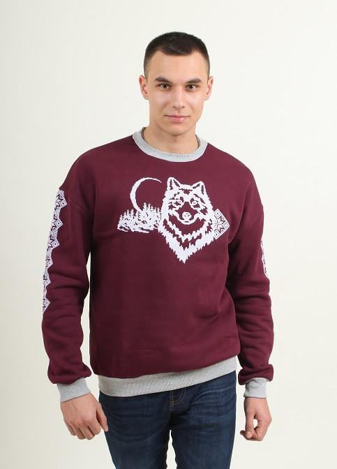 316819e301f Праздничный мужской свитшот с вышивкой парные толстовки - Оптово-розничный  магазин одежды