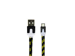 USB кабель micro USB в тканевой оплетке, фото 2