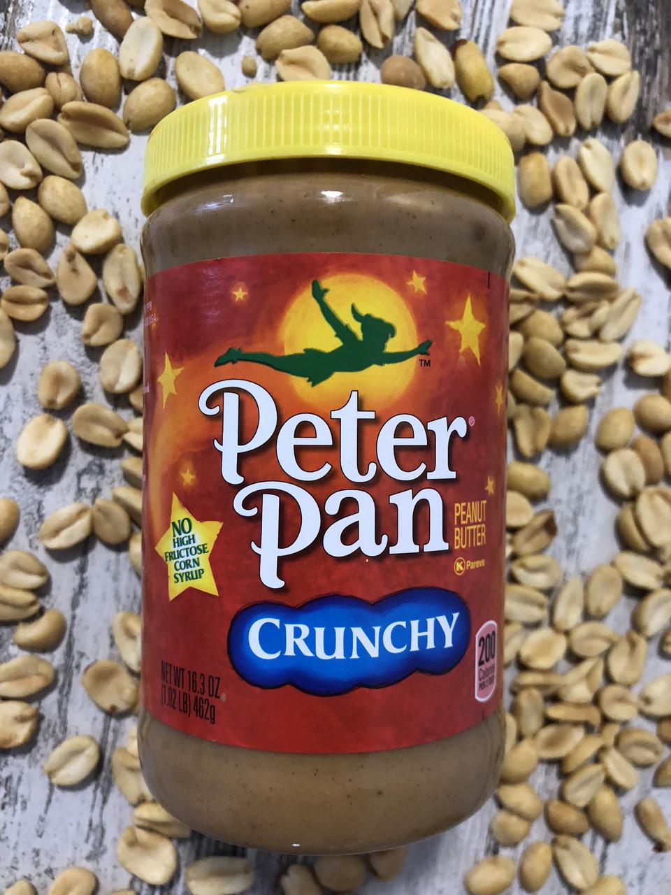 Арахисовая паста с кусочками орешков PETER PAN, 462грамм